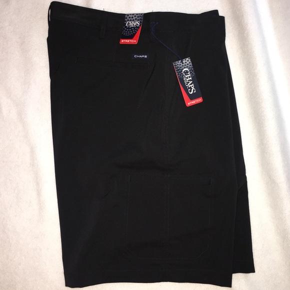 Chaps Men's Shorts Flat Front Light Blue Size 30 Euc Shorts Clothing, Shoes & Accessories
